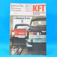DDR KfT Kraftfahrzeugtechnik 3/1970 DKW RT 159 Skoda S 100 Hercules K 50 RX 41