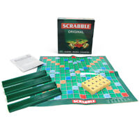 Scrabble Board Game Adults Kids Vocabulary Educational Toys Family GameH A8A