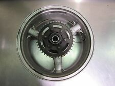 05 06 07 08 ZZR 600 ZZR600 REAR WHEEL RIM HUB SPROCKET SILVER 100% STRAIGHT OEM