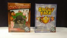 Black Sheep Family Card Game And Smiley Face Game NEW