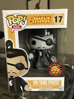 Funko POP Asia Wu Tang Priest Black & White B&W Vinyl Figure Shaolin Legends