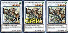 3x VORTEX THE WHIRLWIND YUGIOH STOR-ENSP1 Limited Ultra
