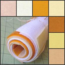 6x12 Wool Felt Sheets -Honey- 7 Sheets of Merino Felt