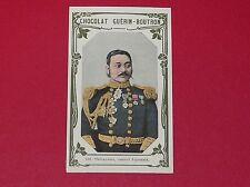 CHROMO GUERIN-BOUTRON CELEBRITES 1910 N°109 GENERAL SHIBAYAMA JAPON