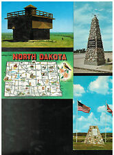 LOT of NORTH DAKOTA POST CARDS ND VINTAGE *FT LINCOLN STATE PARK *MONUMENTS MORE