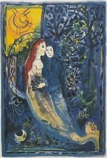 """MARC CHAGALL """"The Wedding"""" Limited Edition Colour Lithograph"""
