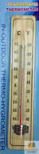 Wooden Garden Thermometers