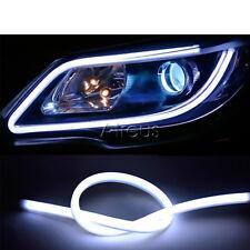 23.6inch Flexible Led Strip Car Daytime Running Light DRL Lamp 12V Guide lights