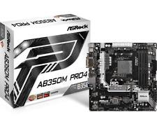 ASRock AB350M Pro4 Socket AM4 mATX Motherboard *Open Box*
