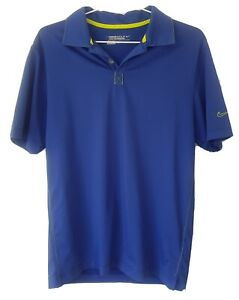 Men's Nike Golf Size Small Blue Polo Shirt