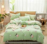 3D Bull Head ZHUA3085 Bed Pillowcases Quilt Duvet Cover Set Queen King Zoe