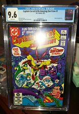 CAPTAIN CARROT #1 CGC 9.6 WHITE PGS *AND HIS AMAZING CREW *SUPERMAN  1st Issue !