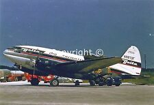 Delta Airlines Freighter Curtis Commando C-46D-20-CU N-9873F Postcard