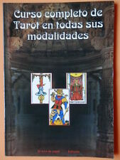 Curso completo de Tarot en todas sus modalidades