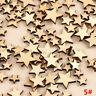 100PCS Lovely Rustic Wooden Wood Love Heart Wedding Table Scatter Decor Crafts