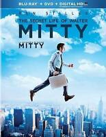 The Secret Life of Walter Mitty (Blu-ray/DVD, 2014, 2-Disc Set, Canadian...