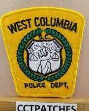 WEST COLUMBIA, SOUTH CAROLINA POLICE SHOULDER PATCH SC