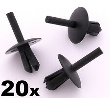 20x Vauxhall Interior Trim Clip- Seat Covers, Fascia Panels & Dashboard Trims
