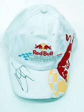 JENSON BUTTON Signed Autograph Red Bull Team CAP AFTAL COA World Champion