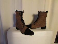 boots/bottines LORIS AZZARO taupe/brun pointure 40