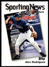 2003 Topps Sporting News Alex Rodriguez Texas Rangers #358