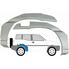 Nissan Terrano 2 II 3 Tür 1993-1999 Radlauf Reparaturblech Kotflügel / Paar