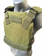 BAM Low Profile Bullet Proof CONCEAL Vest for AR500 Body Armor - OD GREEN