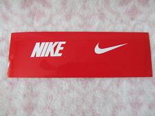 Nike Eye Shield Decals OSFM Red/White 1 Pair Men's Women's