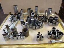 Proto, Craftsman, Cornwell, Plumb, Par-X, MAC, Wright Socket Lot