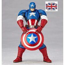 Avengers Series Captain America Action Figure Revoltech Yamaguchi Heroes Toys