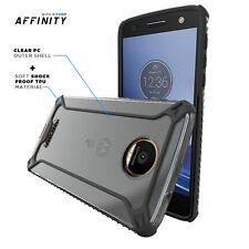For Motorola Moto Z / Moto Z Droid Edition POETIC Premium Thin Case Black/Clear