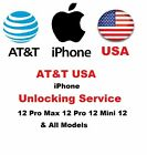 PREMIUM FACTORY UNLOCK SERVICE FOR AT&T USA iPhone 13 iPhone 12 Pro Max 11Pro