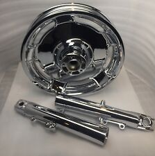 "Harley 2000 -07 MAG RIM Touring Street Glide Road King front 16"" Chrome wheel"