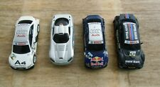 Konvolut mit 4 Wagen mit Fehlteilen für Carrera GO