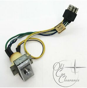 1966 Lincoln Continental Emergency Flasher Switch (C6VY15B590A)