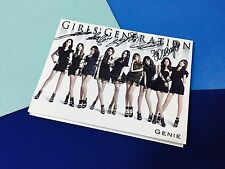 SNSD Girl's Generation Genie CD+DVD Japan Album (autographed all members)