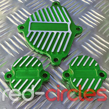 GREEN YX160 PIT DIRT BIKE CNC DRESS UP / BLING KIT / COVERS YX 160 160cc PITBIKE