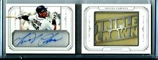 Miguel Cabrera*2015 National Treasures Triple Crown AUTO Booklet SSP# 2/5 Tigers