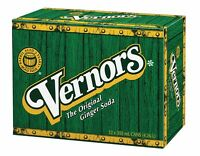 Vernors the original ginger soda 12 cans, 1 case 355ml