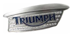RARE TRIUMPH LADIES JEWEL TANK BELT BUCKLE WOMEN'S LOGO BUCKLE $68.99 NOW $39.99