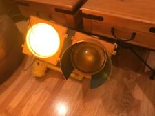 "Vintage 12"" Lens Road / TRAIN Traffic Light Signal with NEW WIRING"