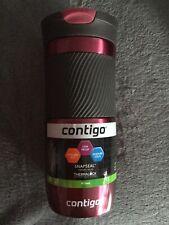 Contigo SnapSeal Vacuum-Insulated Stainless Steel Travel Mug (473ml) Brand New