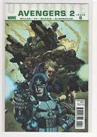 Ultimate Avengers 2 #6 Mark Millar Carlos Pacheo Hawkeye Captain America 9.2