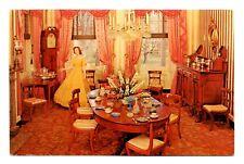 Wheatland Lancaster Pennsylvania Postcard Formal Dining Room President Buchanan