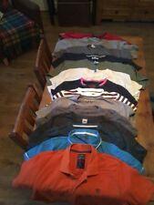 15 piccole Mans T-shirt tutte perfette condizioni 13 Scollo Tondo 2 con Colletto Asos,