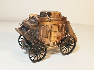 * BANTHRICO DIE-CAST COIN BANK STAGE COACH EXCELLENT COND. - SEE PICS