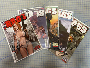 RAGS #1 3 4 5 6  Antarctic Press 2018 (issue #1 is A 3rd Print)