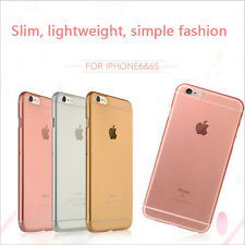 0.3mm Ultra Slim Matte CLEAR Hard Soft Gel Case Cover for Apple iPhone 6 & 6Plus