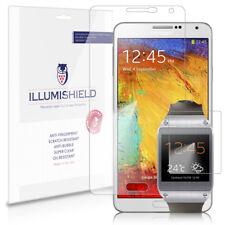 iLLumiShield Screen Protector HD 3x for Samsung Galaxy Note 3 III+Galaxy Gear