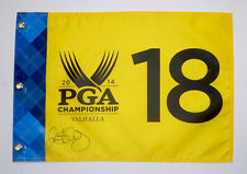 RORY McILROY signed PGA Championship 2014 Valhalla pin flag. COA. Proof.